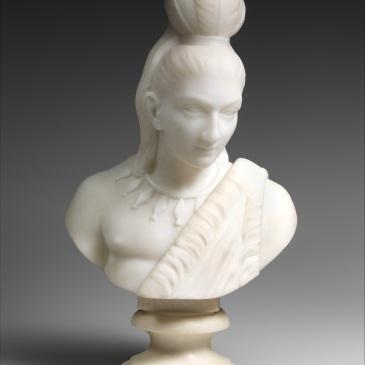 Bust of Hiawatha - Edmonia Lewis