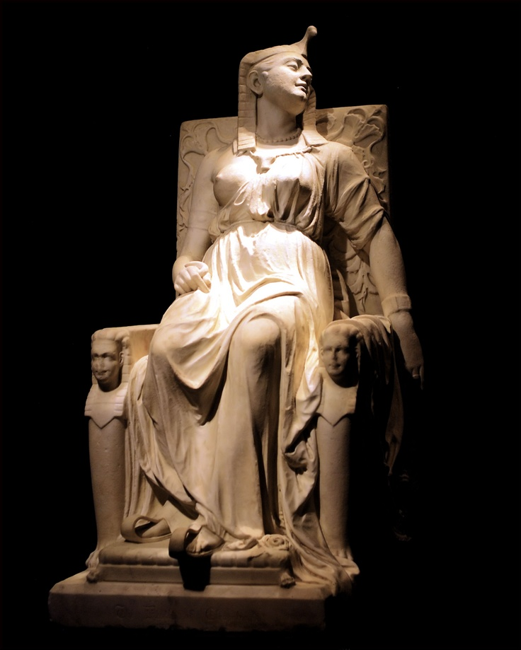 The Death of Cleopatra, Edmonia Lewis