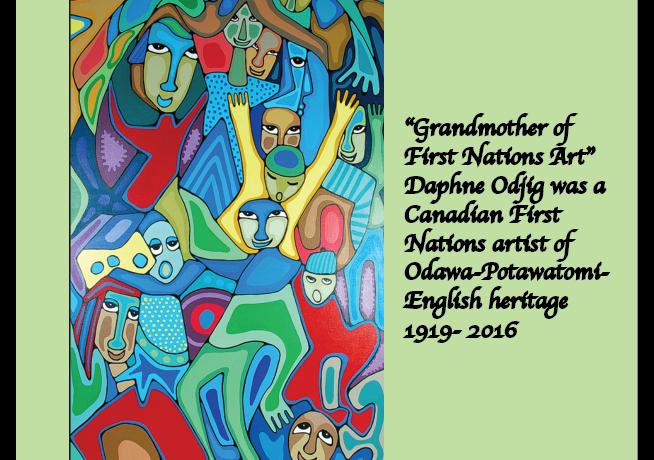 Daphne Odjig, Canadian First Nations Artist