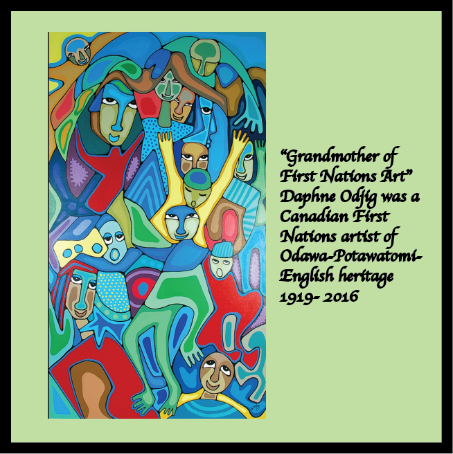 Daphne Odjig, Canadian First Nations Artist