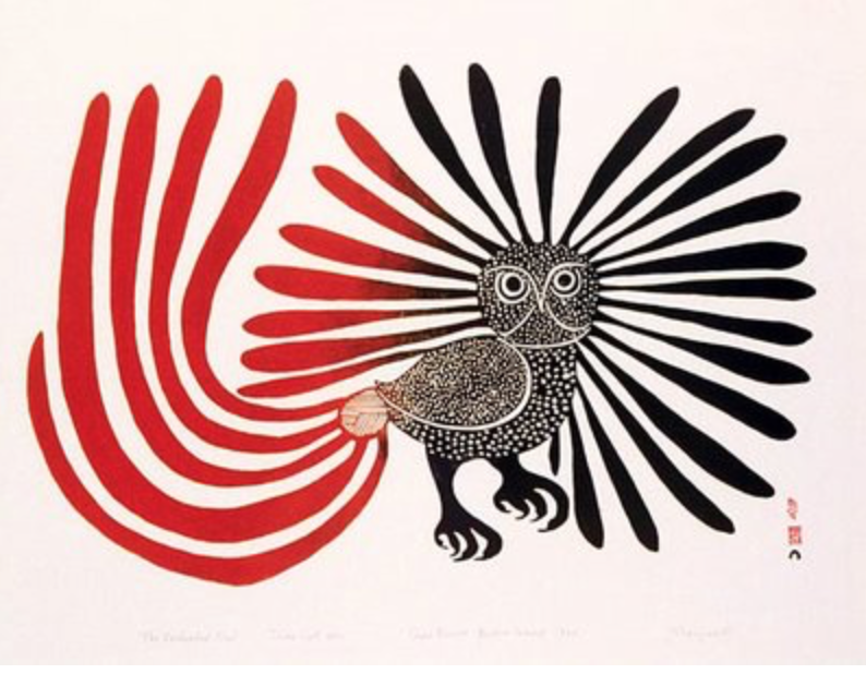 Enchanted Owl Kenojuak Ashevak