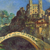 Dolceacqua - A medieval village in Italian Riviera
