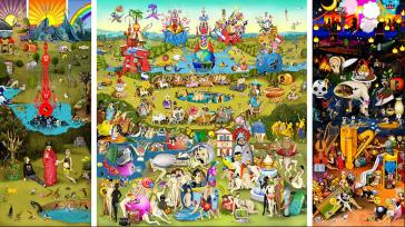 Carla Gannis - The garden of Emoji delights