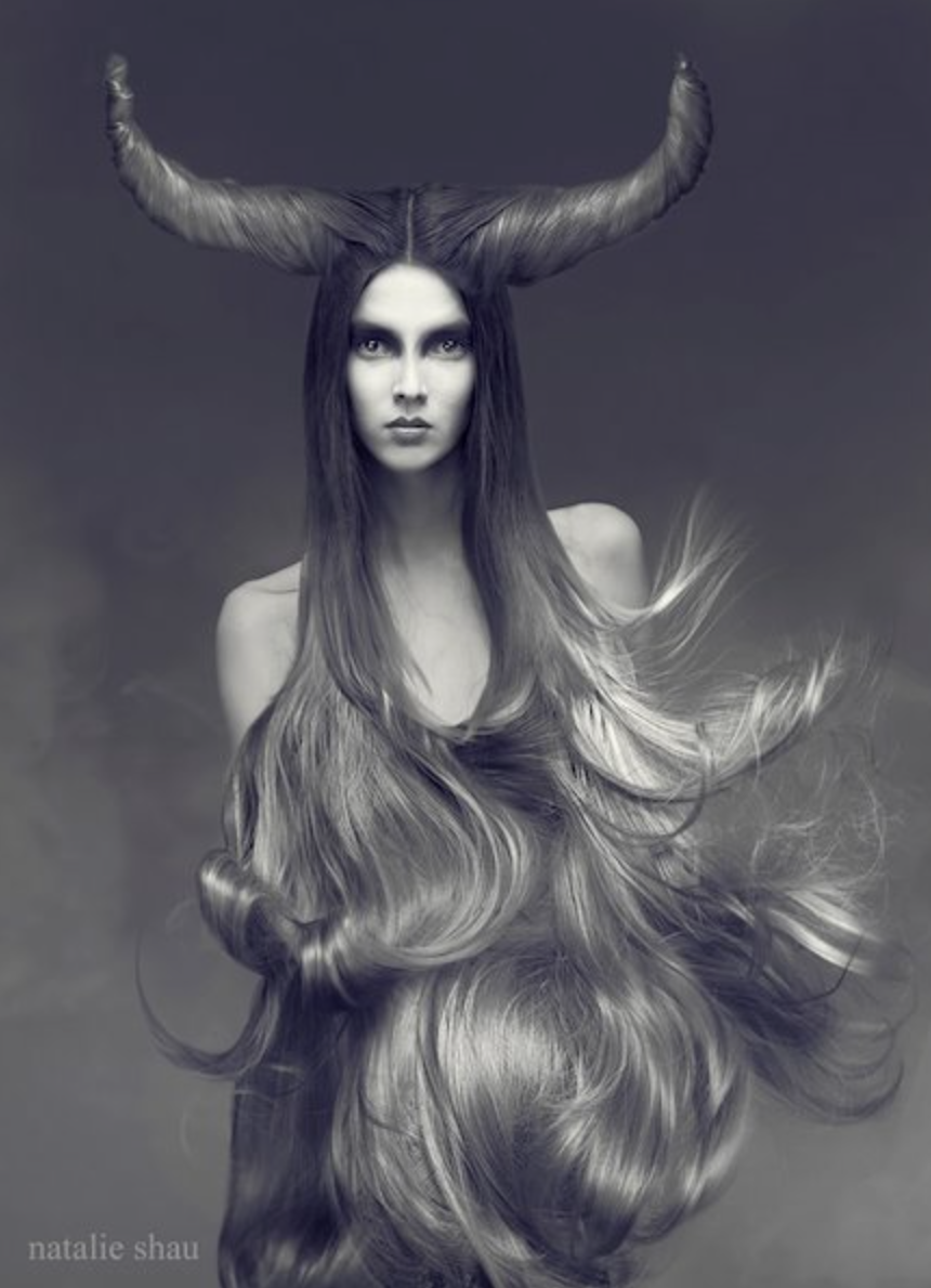 "Fashion Photography ""Snow Yak"" by Natalie Shau"