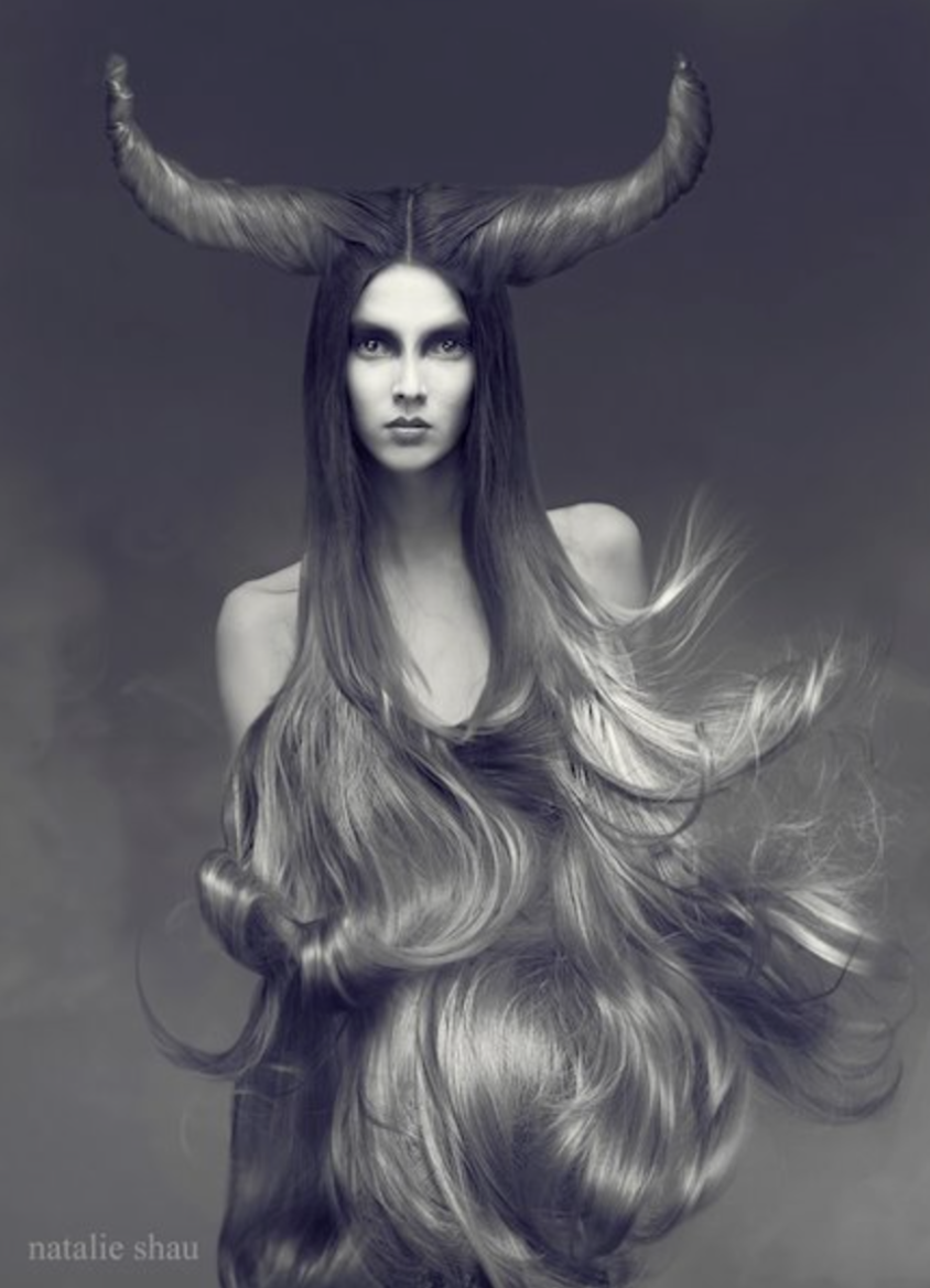 "Fashion Photography ""Snow Yak"" by Natalie Shau"