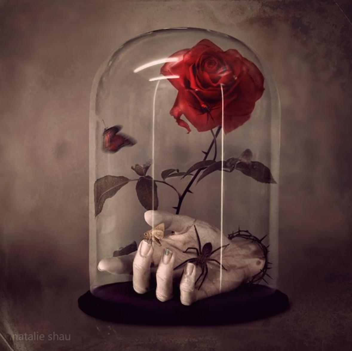 Cradle of Filth 1 - Music Art Works by Natalie Shau