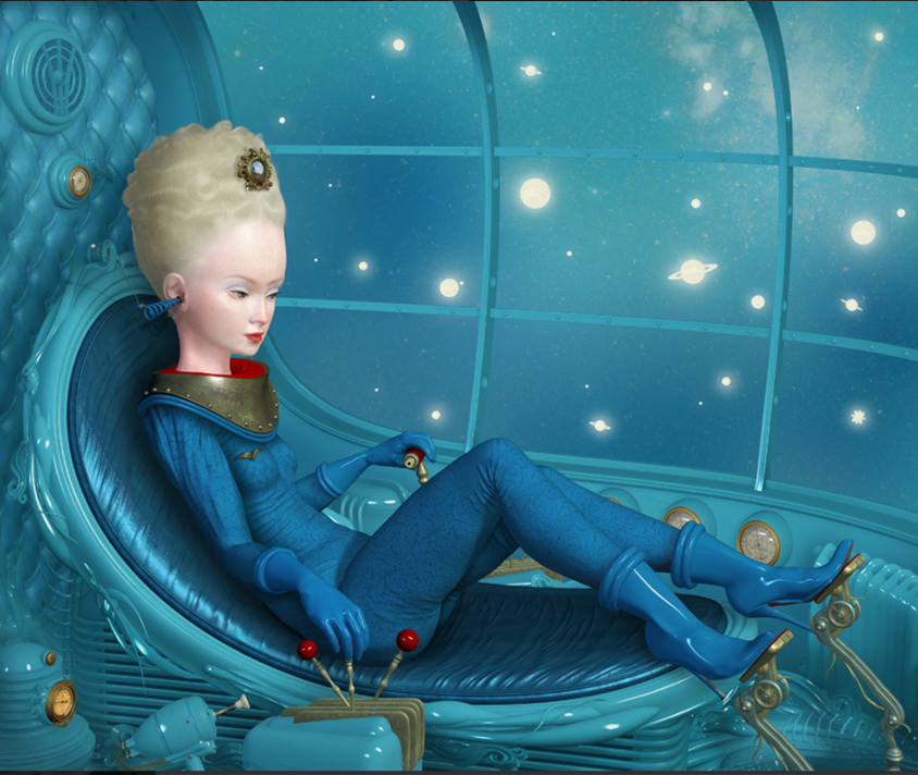 World Traveler - Courtesy of Ray Caesar/Gallery House