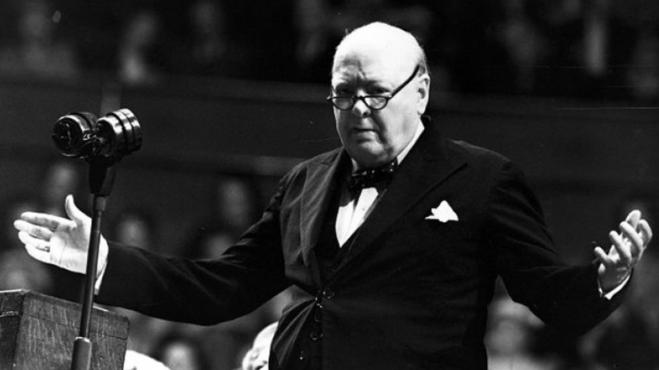 Winston Churchill - Image from Winston Churchill Org.