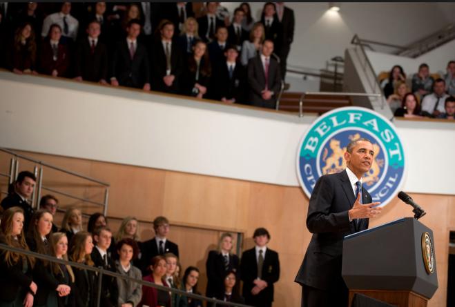 Barack Obama Visit to Ireland - White House Image