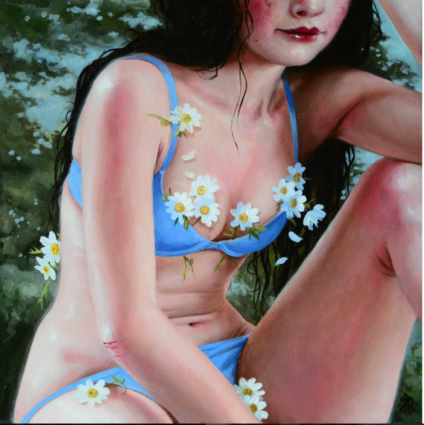 """The Wild Honey Girl""by Jana Brike - Gallery House Toronto"
