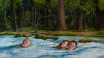 """""""Swimming Lessons"""" by Jana Brike Courtesy of Gallery House Toronto"""