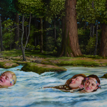 """Swimming Lessons"" by Jana Brike Courtesy of Gallery House Toronto"