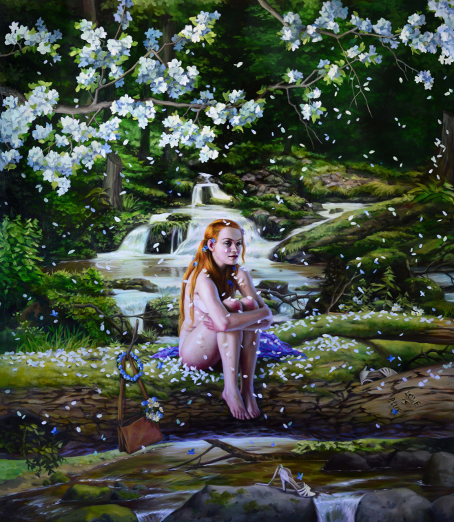 """""""The Deep Waters"""" by Jana Brike Courtesy of Gallery House Toronto"""