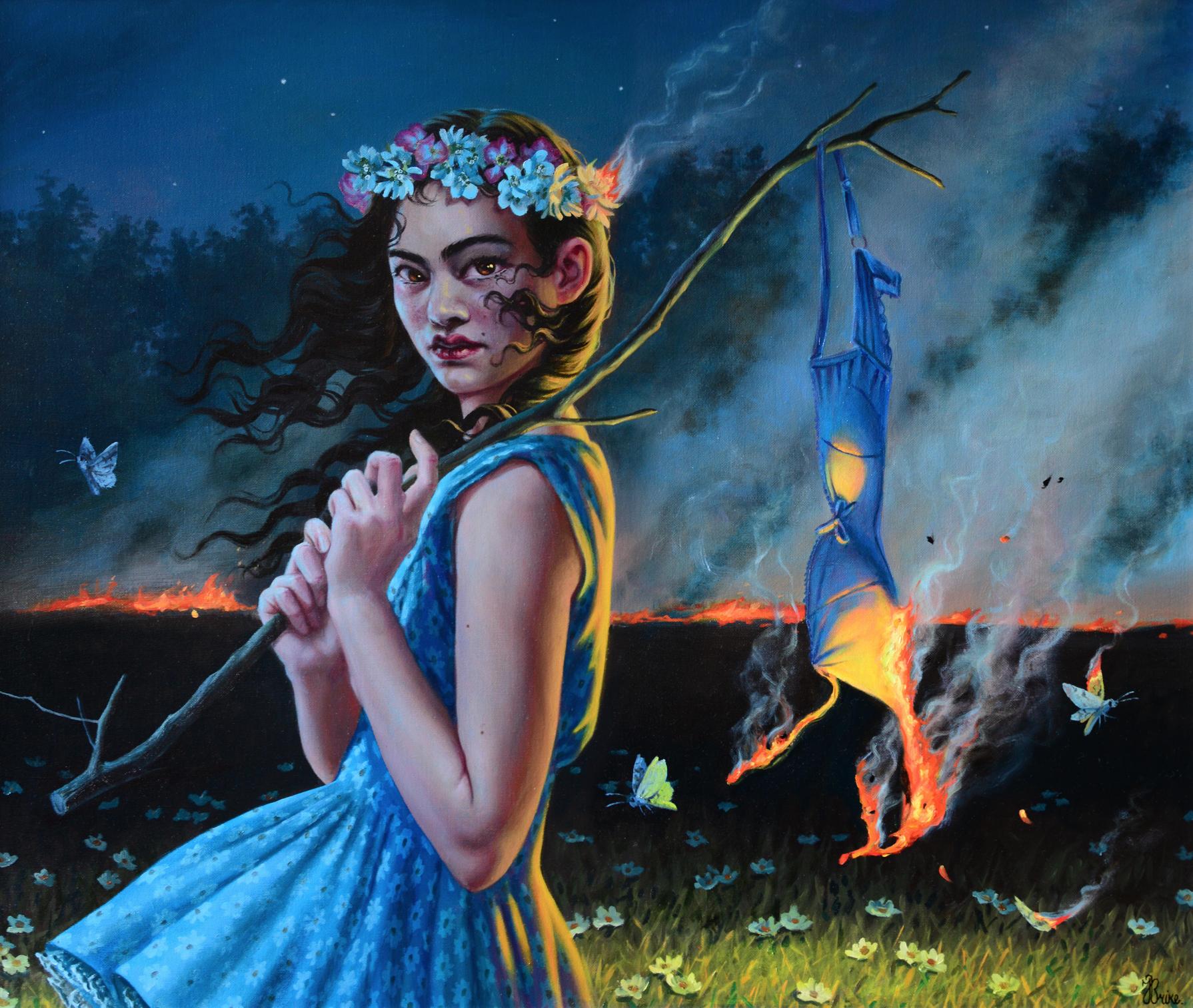 """Blood Moon"" by Jana Brike - Courtesy of Gallery House Toronto"