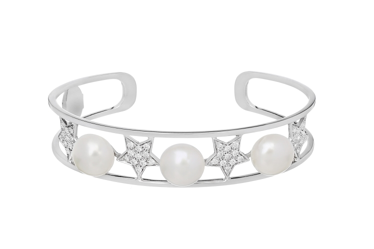 Stella Bracelet with pearls Spallanzani Jewels
