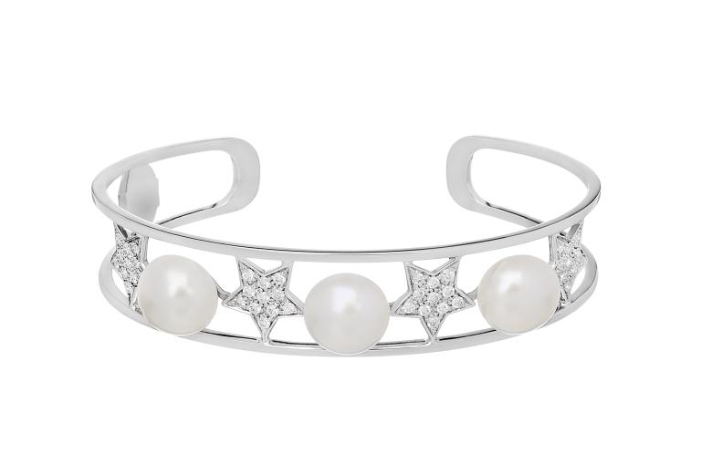 Stella Bracelet with pearls Spallanzani Jewels