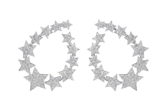 Stella hoop earring Spallanzani Jewels