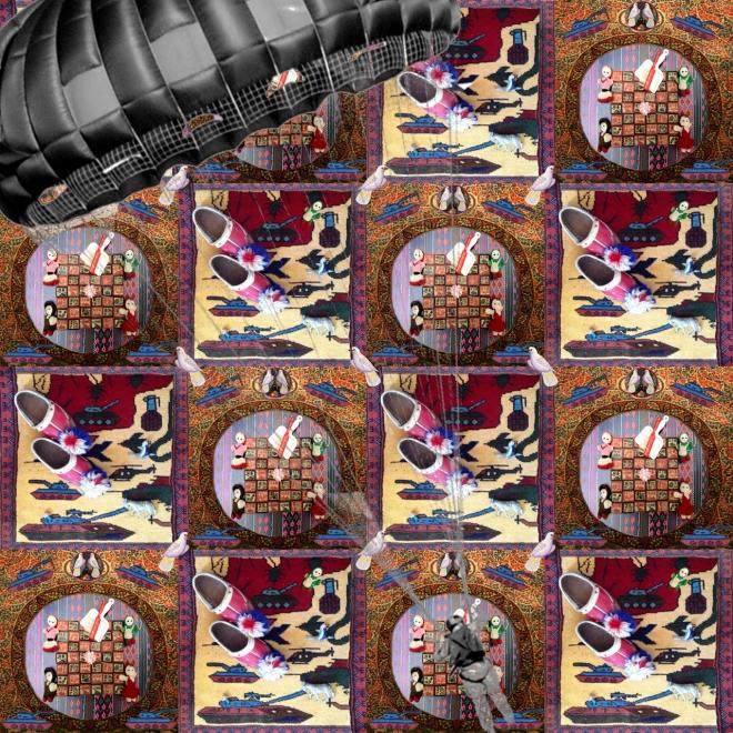 War Carpet - by Afsoon