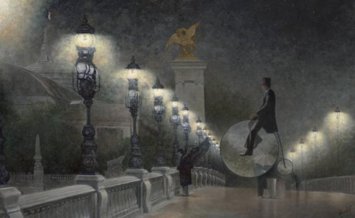Magritte's Dark Angel By Robert Vanderhorst