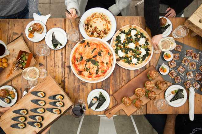 Gusto 101 - Toronto - Southern Italian classics with a global twist in an industrial setting plus wine on tap.