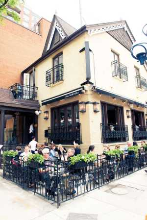 Trattoria Nervosa - Toronto- House with a rooftop patio offering a chic & chill setting for classic Italian dishes & drinks.